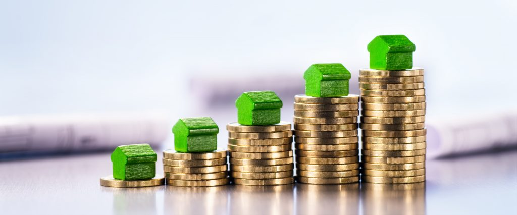 Home and money rising value
